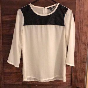 Express dress blouse.